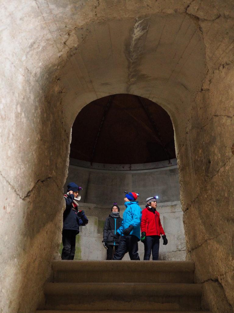 Le cannoniere del Forte Campolongo