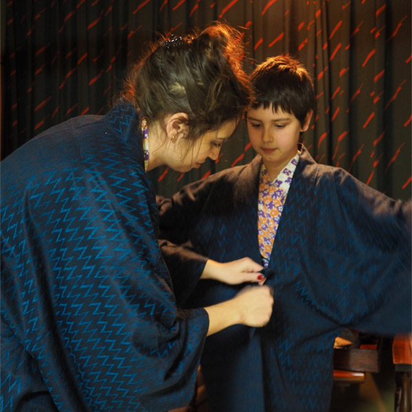 Family on trip – Japan