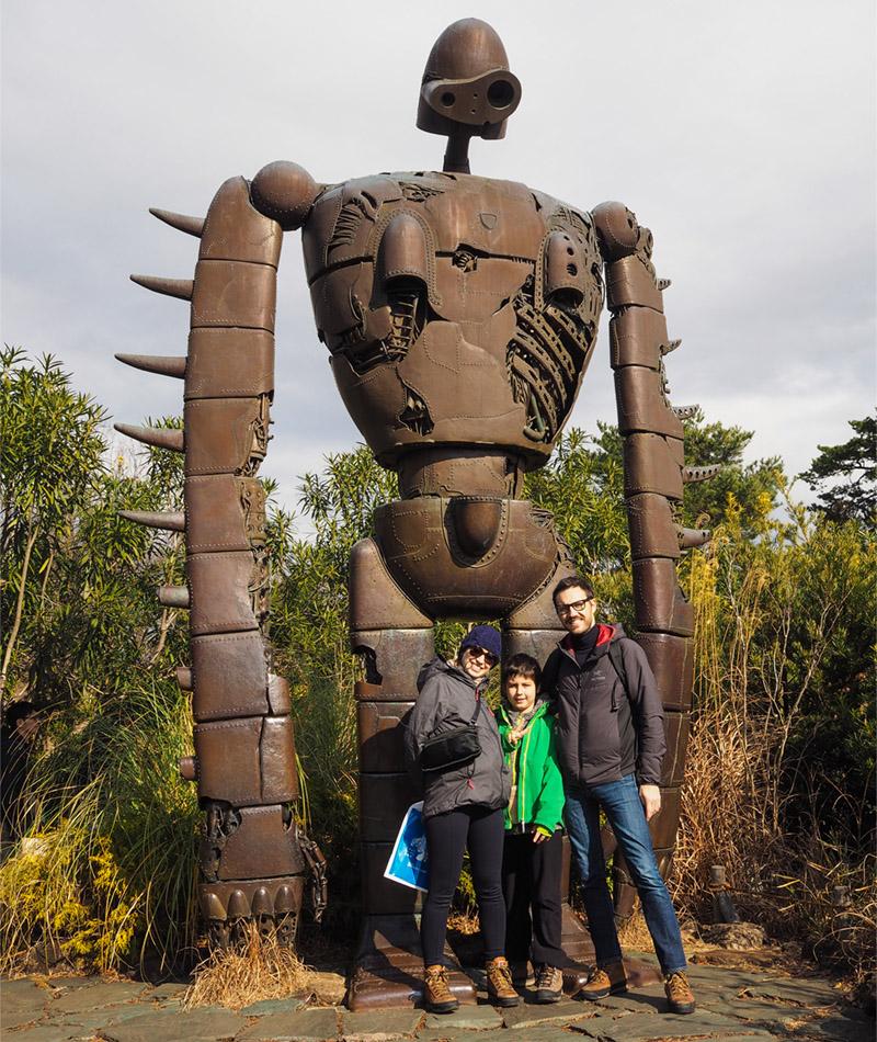 Family on trip – Tokyo – Ghibli Museum