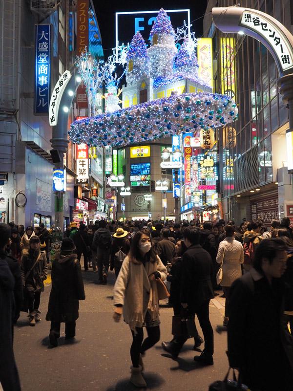 Family on trip – Tokyo – Shibuya