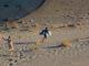 Giù dalle dune a Frangokastello